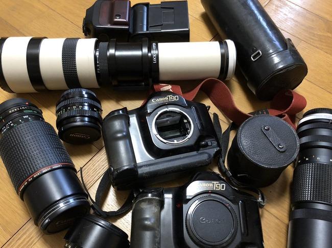 遺品 整理 急遽 父 部屋 掃除 偽装 箱 宝物 カメラ レンズに関連した画像-02