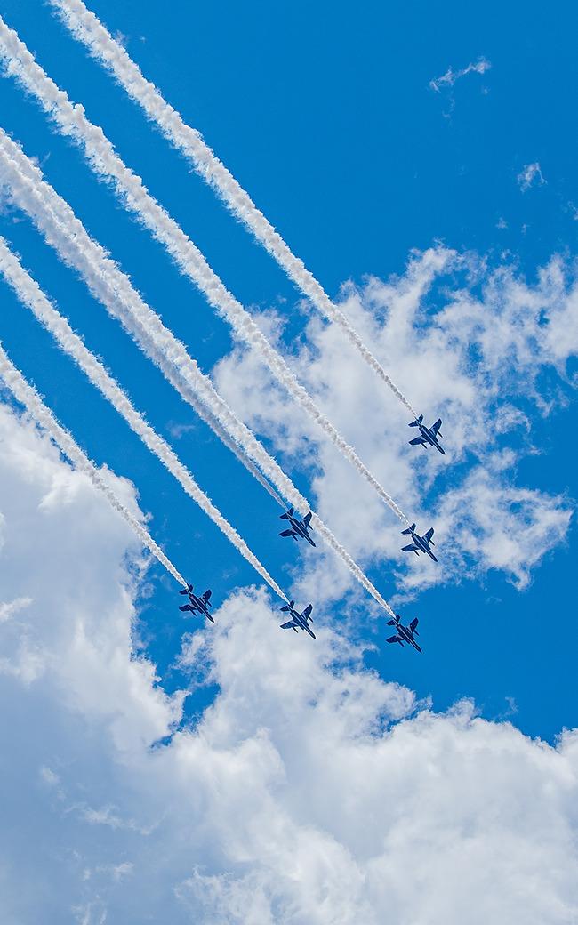 ブルーインパルス 航空自衛隊 医療従事者 激励 感謝に関連した画像-05