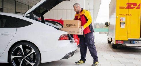 アマゾン Amazon 車内 配達に関連した画像-01