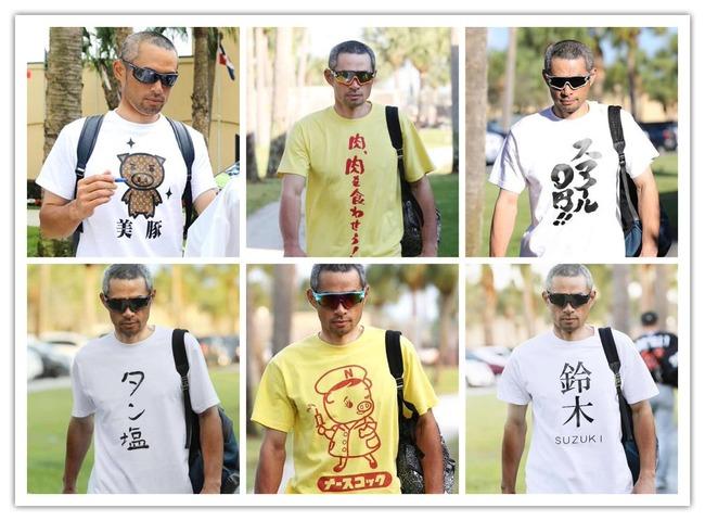 イチロー Tシャツ ネタに関連した画像-05