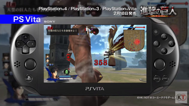 進撃の巨人 PSVita版 PS3版 グラフィックに関連した画像-06