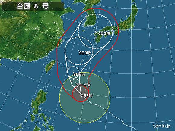 台風8号に関連した画像-02
