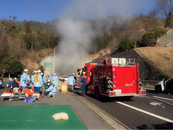 山陽道 トンネル 交通事故 多重事故に関連した画像-05