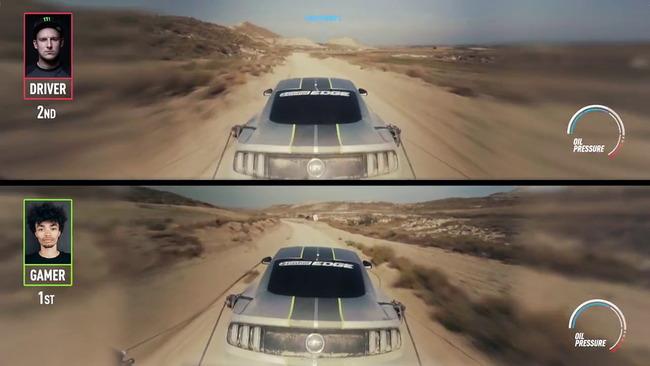 ゲーマー プロドライバー レースゲーム 後方視点 実車 再現 勝負に関連した画像-07