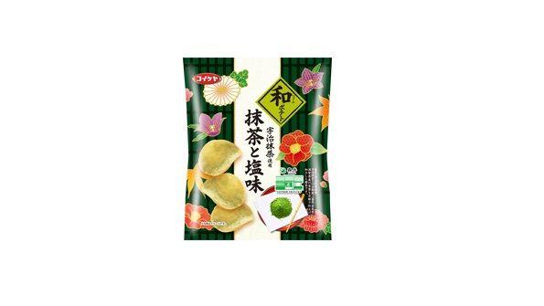 ポテトチップス 宇治抹茶に関連した画像-01