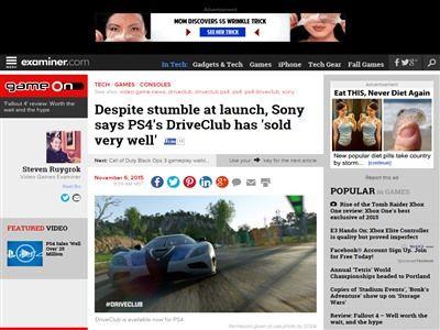 PS4 ドライブクラブ ソニー ロンチに関連した画像-02