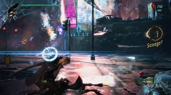 デビルメイクライ5 ゲームプレイ映像 gamescomに関連した画像-02