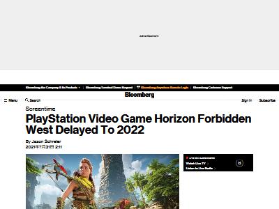 噂 SIE ホライゾン 禁じられた西部 発売延期 2022年 1Q ゲリラゲームズに関連した画像-02