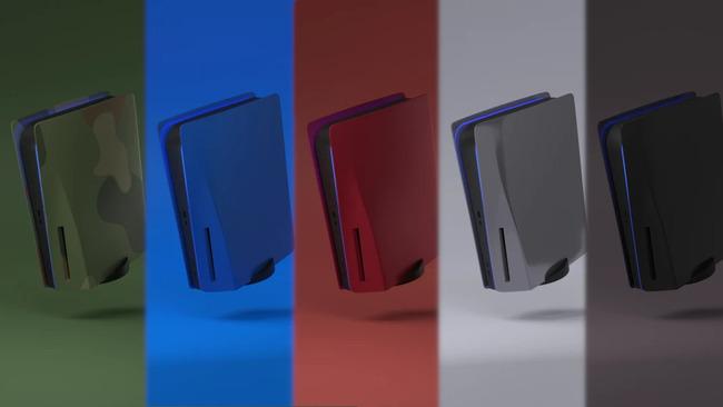 PS5 カスタムフェイスパネル ソニーに関連した画像-01
