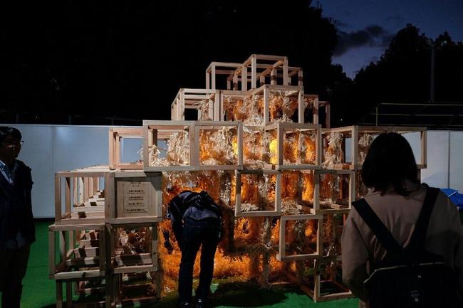新宿 東京デザインウィーク 火災 展示物 素の家に関連した画像-03