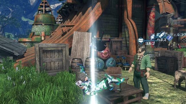 ゼノブレイド2 落下死 隠しコマンドに関連した画像-01