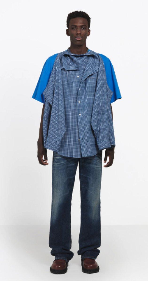 バレンシアガ Tシャツシャツ ファッション 高級ブランドに関連した画像-03