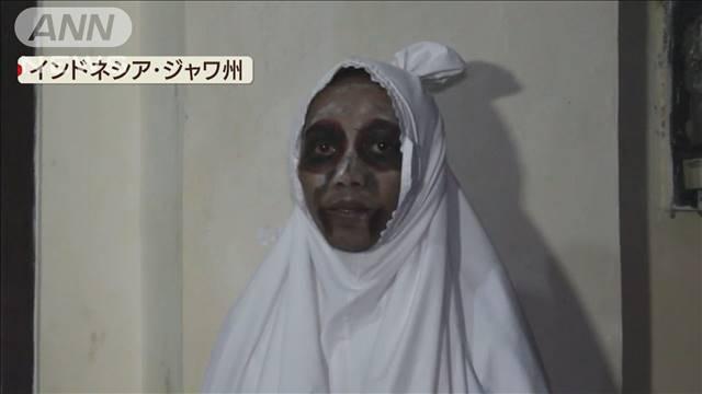 幽霊 新型コロナウイルス インドネシア パトロールに関連した画像-03