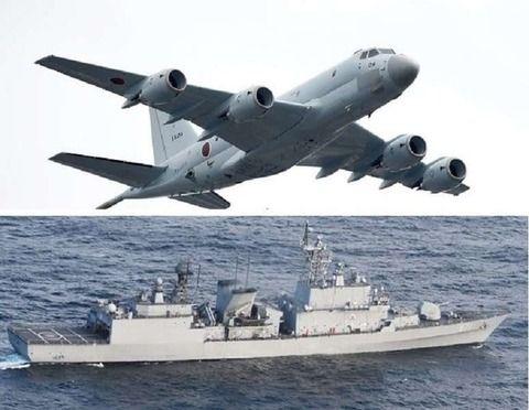 韓国 韓国駆逐艦 火器管制レーダー照射 日本に応戦 日韓問題に関連した画像-01