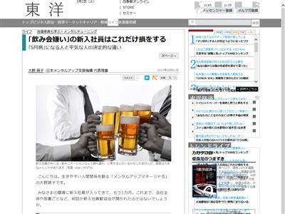 会社 飲み会 損に関連した画像-02