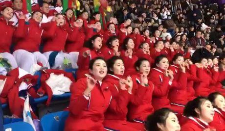 平昌五輪 北朝鮮 美女応援団 アメリカに関連した画像-01