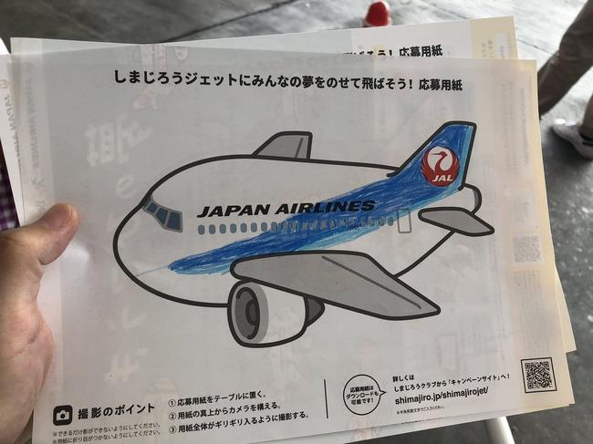 JAL 職員 飛行機 子供 塗り絵 ANAに関連した画像-02