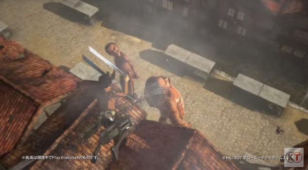 進撃の巨人 PS4 ゲーム PVに関連した画像-06