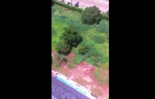 マンション 動画 通販 パラシュート 飛び降り 批判 号泣 家族に関連した画像-04