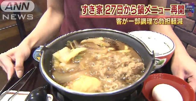 すき家 牛すき鍋 従業員に関連した画像-01