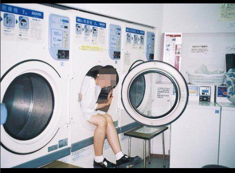 インスタ女子 インスタ蝿 インスタ映え コインランドリー 洗濯機に関連した画像-03