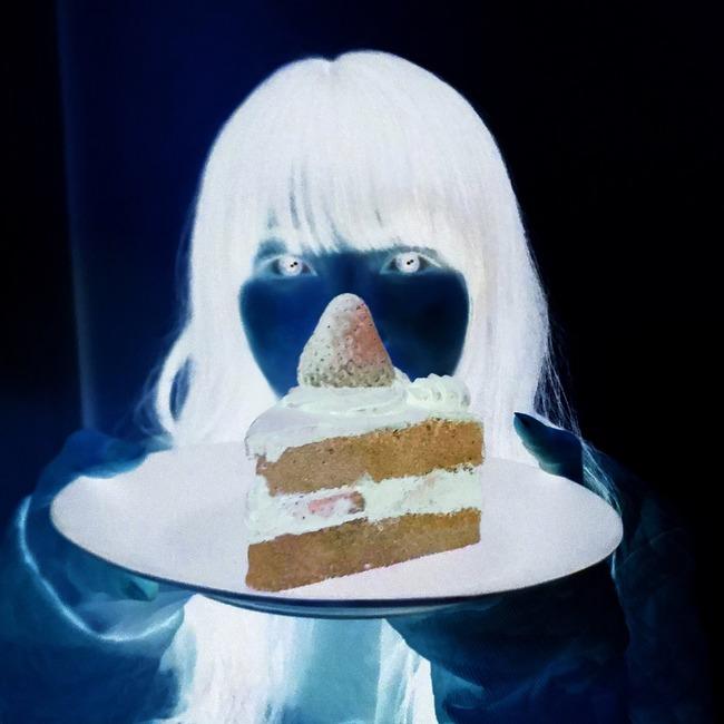 インスタ映え ショートケーキ 色反転に関連した画像-03
