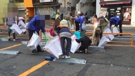 渋谷 ゴミ拾い 子供に関連した画像-01