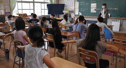 北九州市 小学校 クラスター 集団感染に関連した画像-01