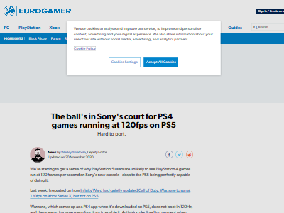 PS5120フレームレート対応移植コストに関連した画像-02