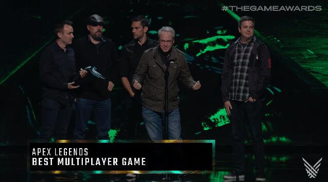 TGA 2019 ApexLegends ベストマルチプレイヤーゲームに関連した画像-02