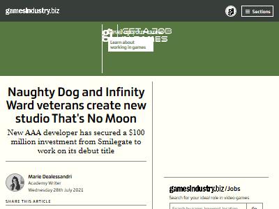 ノーティドッグ InfinityWard ベテラン スタジオ 設立 ゲーム業界に関連した画像-02