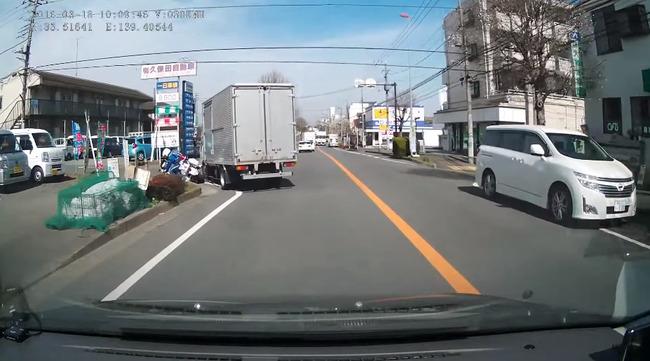 白バイ トラック 動画に関連した画像-08