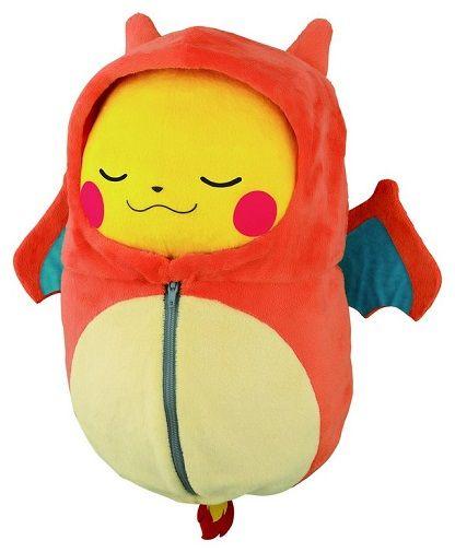 ピカチュウ ポケモン 一番くじ バンプレスト ぬいぐるみ 寝袋に関連した画像-11