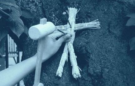 呪術 わら人形 藁人形に関連した画像-01