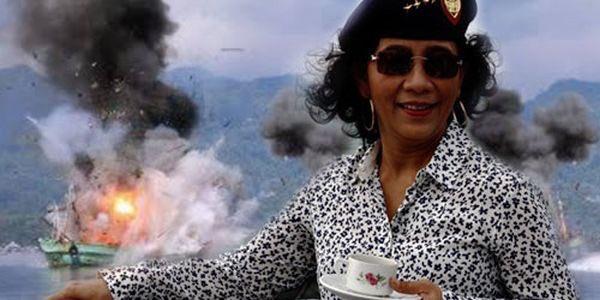 インドネシア 女性海洋大臣 ブラックラグーンに関連した画像-01