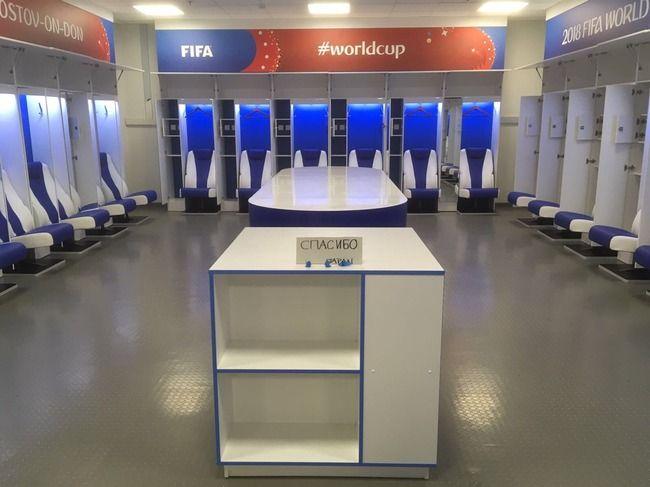 W杯 ロッカー 日本代表 FIFA 運営 スタッフ 解任に関連した画像-01