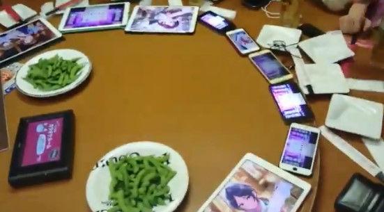 オタク ガチャ 中華テーブル ターンテーブル デレステ アイマス 二次会に関連した画像-07