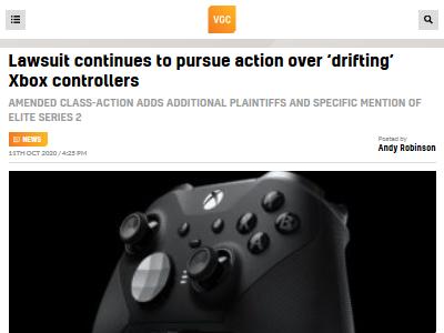 Xbox コントローラー 集団訴訟に関連した画像-02