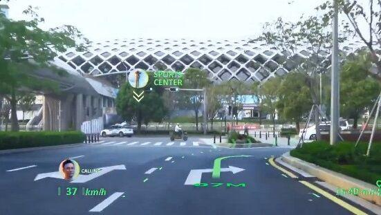 中国 車 フロントガラス 交通情報 投影 未来 SFに関連した画像-01