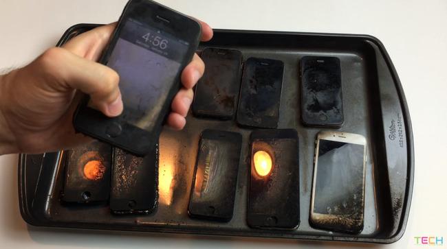 iPhone 燃やす 歴代 携帯 スマホ アップルに関連した画像-10