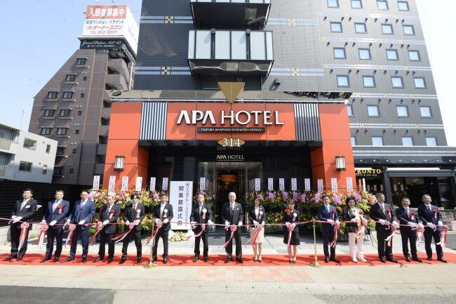 アパホテル 月額 サブスクに関連した画像-01