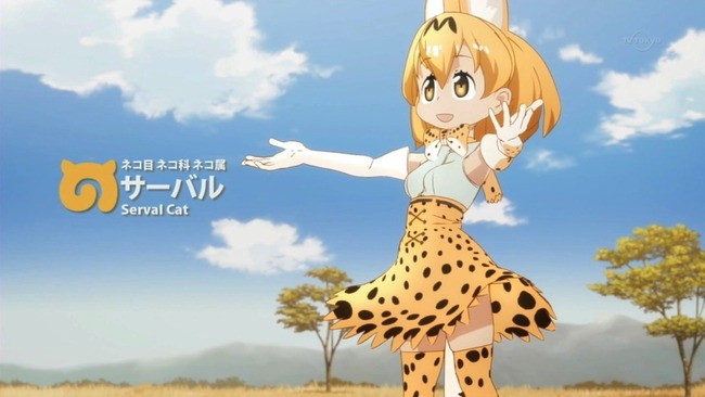 けものフレンズ サーバルちゃん 動物園に関連した画像-01