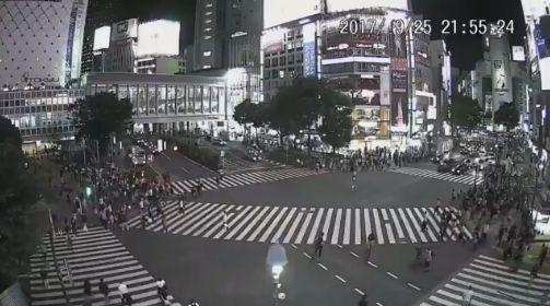 渋谷 スクランブル交差点 ワゴン 暴走 追跡 警察に関連した画像-01