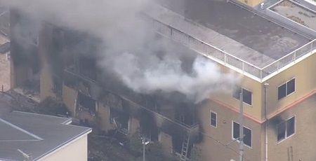 京アニ放火事件、死者が25人に