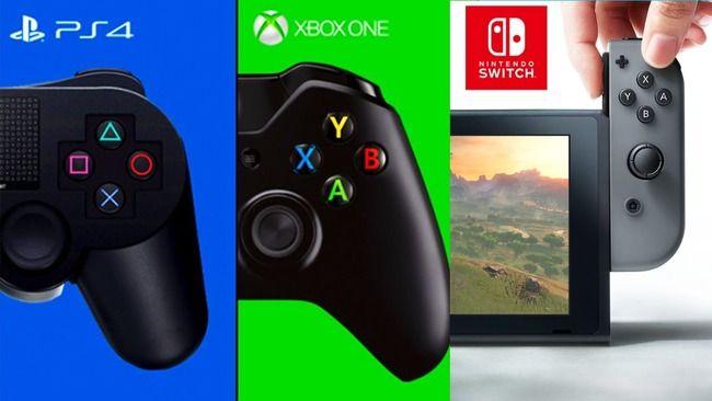 コンソール サイクル PS4 PS4Pro XboxOne XboxOneX ニンテンドースイッチに関連した画像-01