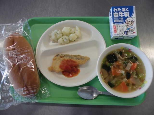埼玉 熊谷 学校 給食 質素に関連した画像-05