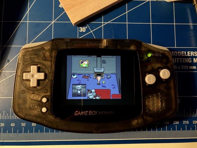 ゲームボーイアドバンス GBA IPS液晶化 綺麗に関連した画像-03