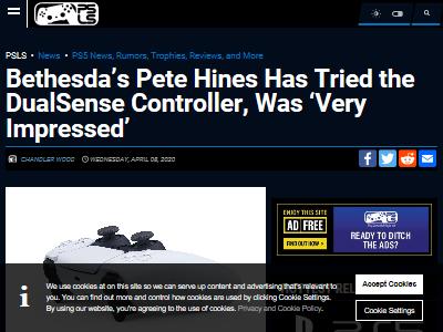 PS5 デュアルセンス コントローラー ソニー ベセスダに関連した画像-02