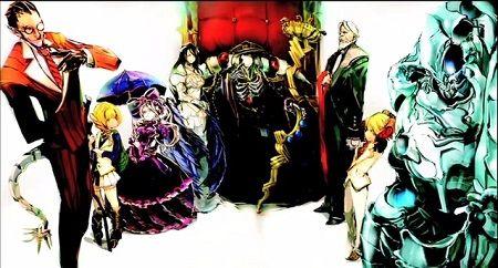 オーバーロード アニメ化 丸山くがね 日野聡 上坂すみれ 千葉繁に関連した画像-01