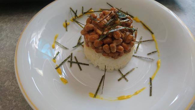 納豆 ご飯 フランス料理 アレンジに関連した画像-05